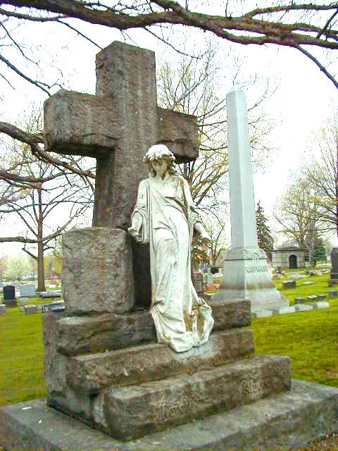Lutheran Cemetery - Cleveland Spring 030 1 - A Cemetery Of All Faiths