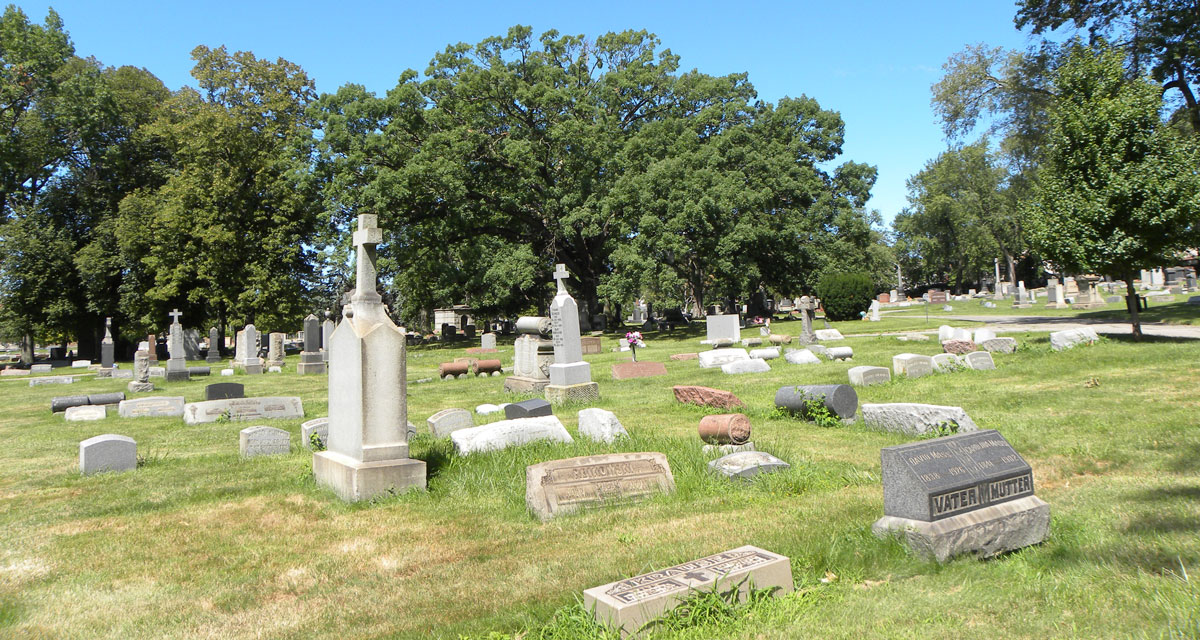 Lutheran Cemetery - internment - A Cemetery Of All Faiths
