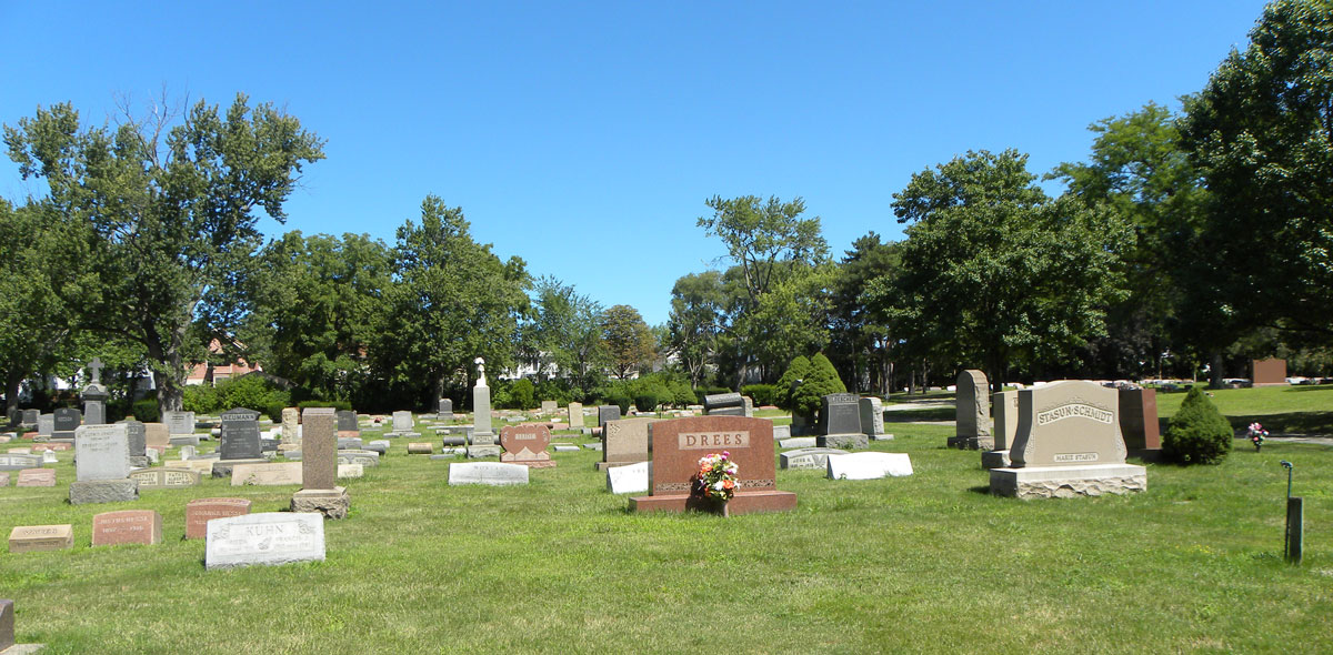 Lutheran Cemetery - memorials - A Cemetery Of All Faiths